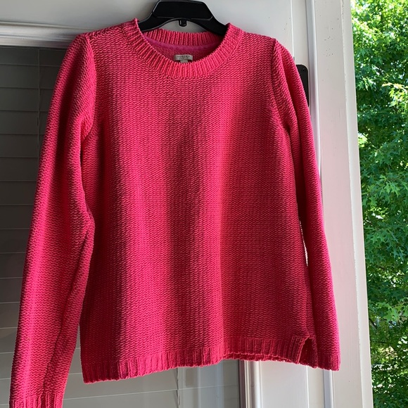SONOMA bright pink sweater MED